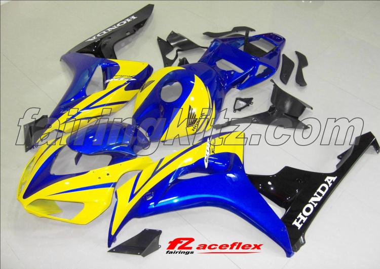 CBR1000RR 2006-07 Blue Yellow & Black